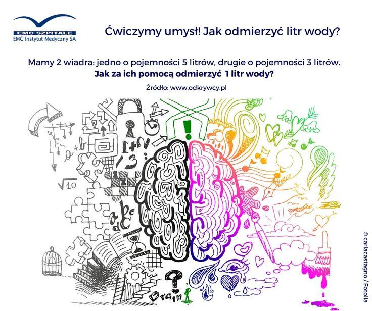Nastał, wyczekiwany przez cały tydzień, piątek. A my nadal uparcie ćwiczymy umysły. Znacie rozwiązanie? #emc #emcszpitale #zdrowaglowa #myslewiecjestem #matematyka #myslenie