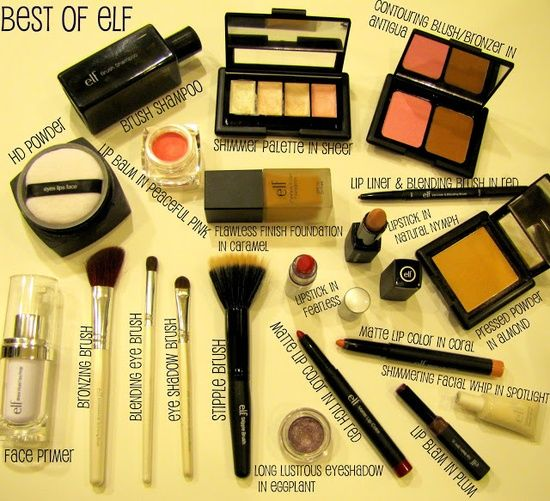 Best of ELF Cosmeticsove this line its at target and super cheap but works great