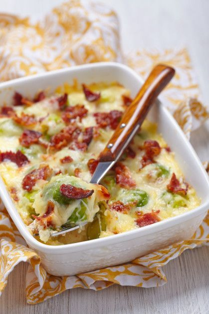 For Those Of You Who Don�t Like Brussel Sprouts, This Cheesy Casserole Will Change Your Mind!