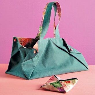 tutoriel sac origami