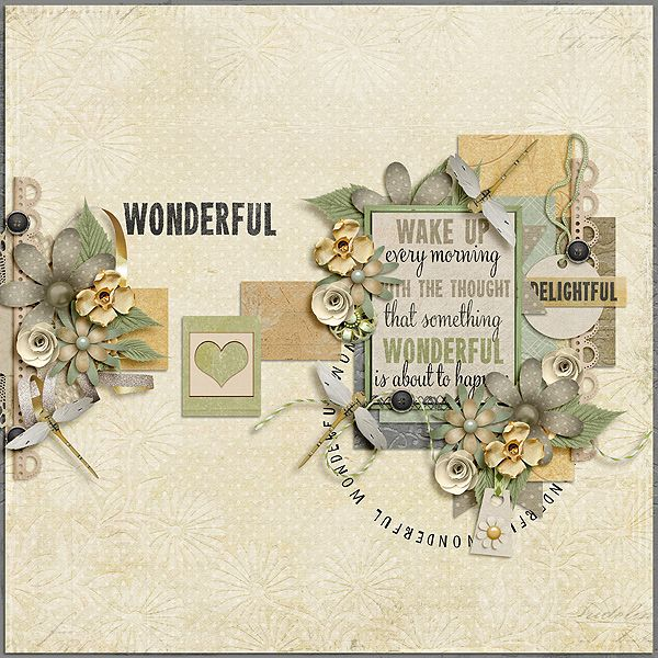 Wonderful - Scrapbook.com