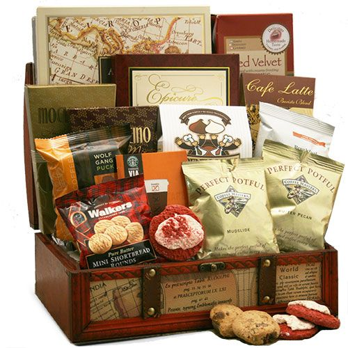 Coffee Gift Baskets: Design Your Own Custom Coffee Gift Baskets online!