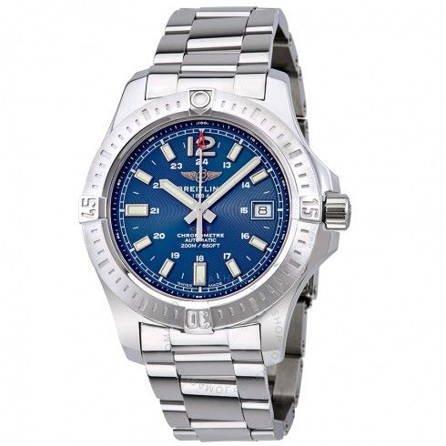 Breitling Colt Automatic Blue Dial Men's Watch A1731311/C934-182A