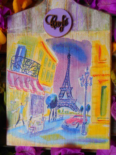 Placa Café Paris