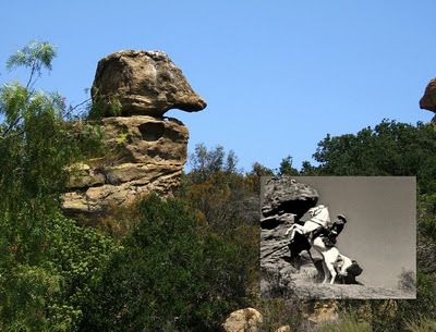 Garden of the Gods Park in Chatsworth, California - Famous site from the Lone Ranger TV show's opening