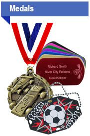 "Get organized. Now is the time to get organized for spring sports! This is a great site if you need a <a href=""http://www.quicktrophy.com/"">soccer trophy</a> for your team. Lots of other great awards & medals, too! Wish I knew about them for Cub Scouts. Would have been awesome for Pinewood Derby, Raingutter Regatta... lots of different things!   #soccer #quicktrophy"