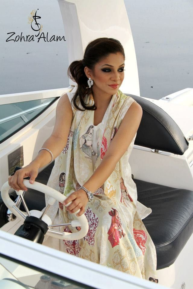 White Sleeveless Silk Tunic