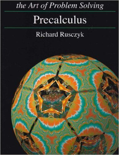Art of Problem Solving Precalculus Textbook and Solutions Manual 2-Book Set: Richard Rusczyk: Amazon.com: Books