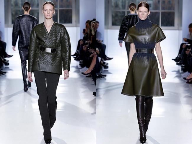 Balenciaga, fall/winter. Pure glamour.