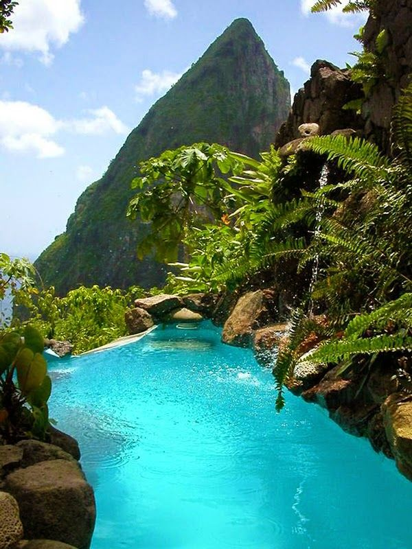 Travel Gallery: Jade Mountain Resort, St. Lucia Caribbean