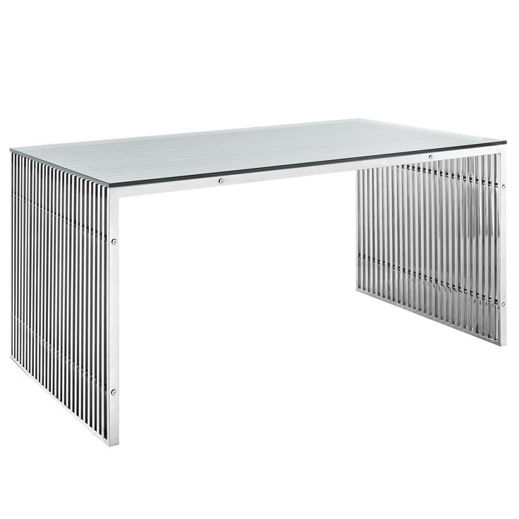 Gridiron Stainless Steel Dining Table Part 67