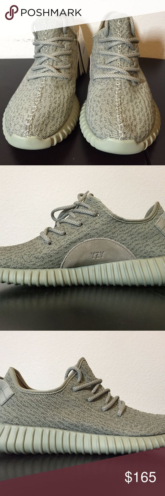 Yeezy Boost 350 Moonrock Gray Feel free to make an offer, every offer reviewed! Brand new in original box with tags/receipt Ships same/next day double boxed Check my feedback on IG @solesourced I GUARANTEE you won't be disappointed or your money back $$$$$ Contact me with ANY questions, better prices, or other sizes/styles! Text 805-464-6480 Shoes Sneakers