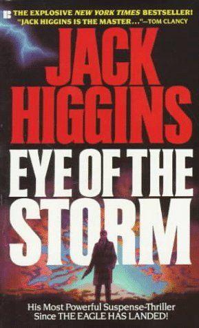 Image result for jack higgins eye of the storm book