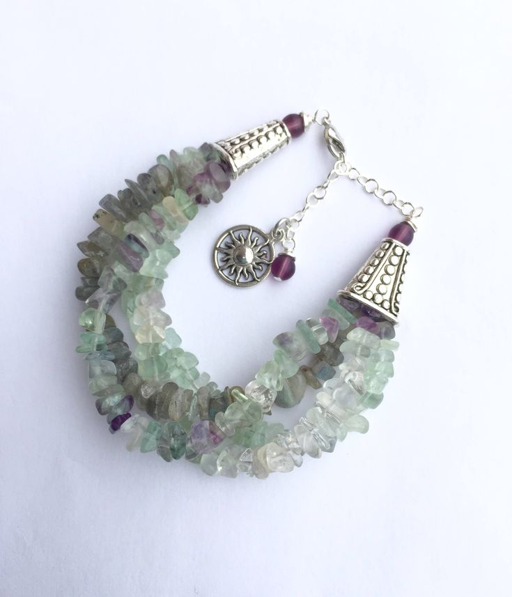 New in our shop! Multi Strand Bracelet with Fluorite and Labradorite, Gemstone Chips Jewelry, Pale Boho Bracelet https://www.etsy.com/listing/551922764/multi-strand-bracelet-with-fluorite-and?utm_campaign=crowdfire&utm_content=crowdfire&utm_medium=social&utm_source=pinterest