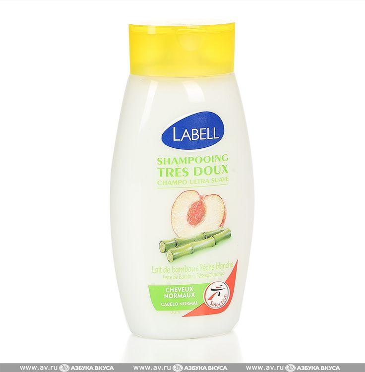 Шампунь для волос LABELL персик-бамбук для нормальных волос Geprocor SAM 250 мл Франция по цене 198 руб 0 коп