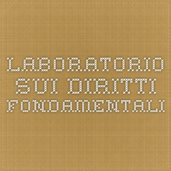 Laboratorio sui Diritti Fondamentali