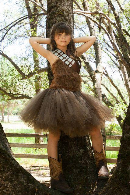 Chewbacca Star Wars tutu dress // Star Wars by FancyPantsTutuShop