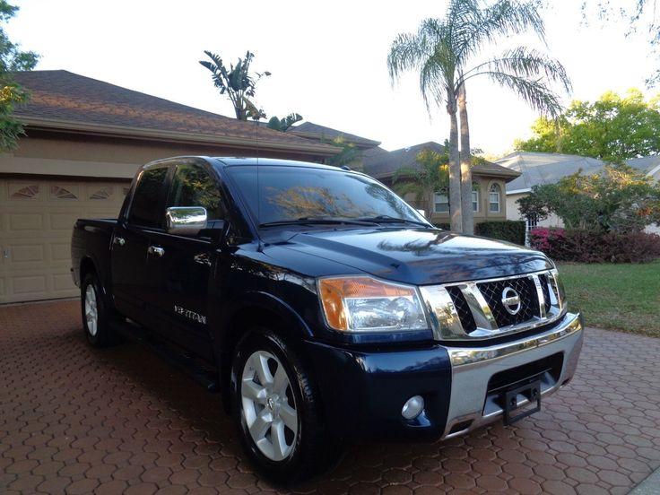 2008 Nissan Titan LE 08 NISSAN TITAN LE CREW CAB 4DR LEATHER BLUETOOTH XM MP3 POWER SEATS TOWING NICE