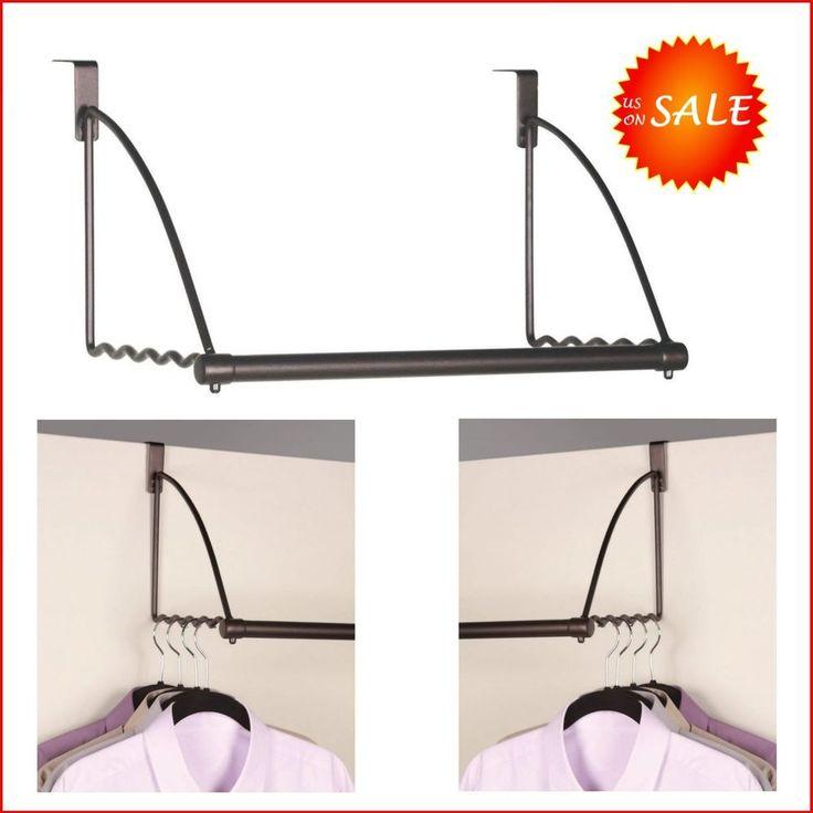portable clothes rack over door cabinet closet valet suit dress hanging storage - Portable Clothes Rack