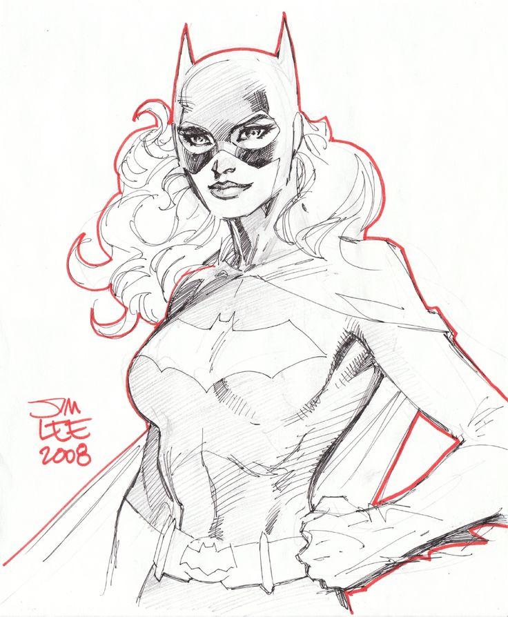 midtowncomics:    batgirl (2008) by Jim Lee