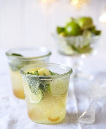 Siba Mtongana's Pineapple & Ginger Virgin Mojito