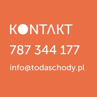 Dzwoń: 787 344 177  Pisz: info@todaschody.pl