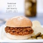 Craving  One Pot Recipes for Sloppy Joes
