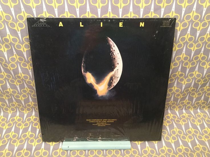 Sealed Alien - Original Soundtrack UK Import Rare LP Vinyl Record Jerry Goldsmith Lionel Newman National Philharmonic Sigourney Weaver