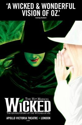 Compare tickets from only £18.99 to see #Wicked at The Apollo Victoria Theatre #London.  Buy tickets online via Click It 4 Tickets - The Ticket Search Engine!  Just Click It 4 Tickets on link below;  http://www.clickit4tickets.co.uk/product-group/wicked  #WickedTheMusical #TheatreTickets #TheaterTickets #Teatro #Musicals #ApolloVictoria