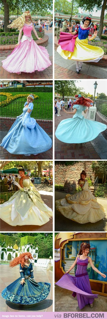 Disney Princesses Twirling… This Makes Me Happy Just Looking At It.