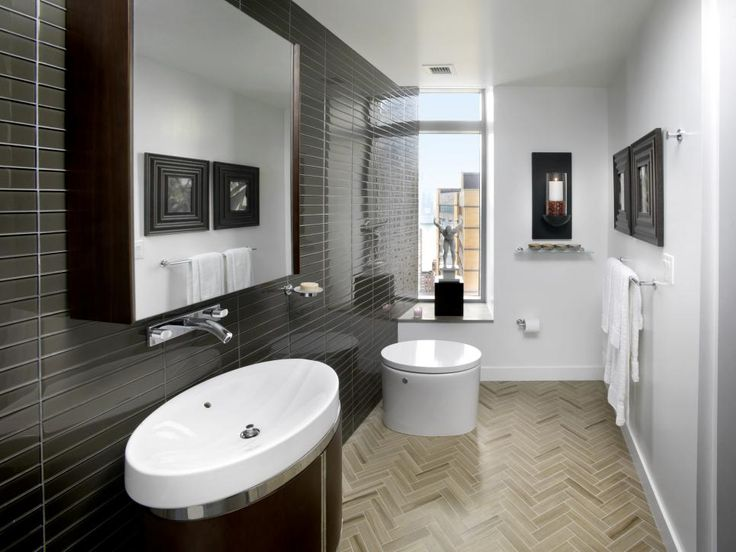 Website Photo Gallery Examples Learn more about the HGTV Urban Oasis master bathroom a modern space that boasts glass tile chrome fixtures and marble countertops