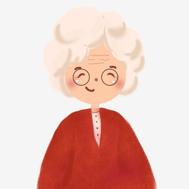 Designed By Kindly Grandmother With Painted Glasses Painted Cartoon Lovely Png Transparent Clipart Image And Psd File For Free Download Cartoon Grandma Cartoon Character Design Illustration Character Design