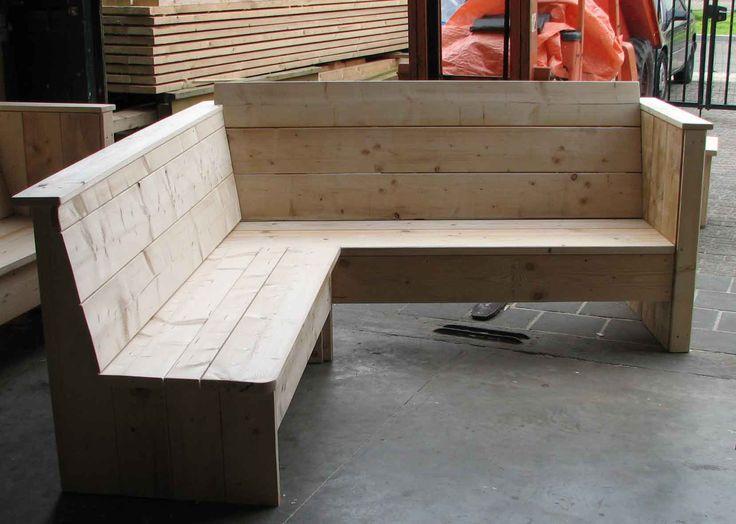 loungebank voor tuin en terras