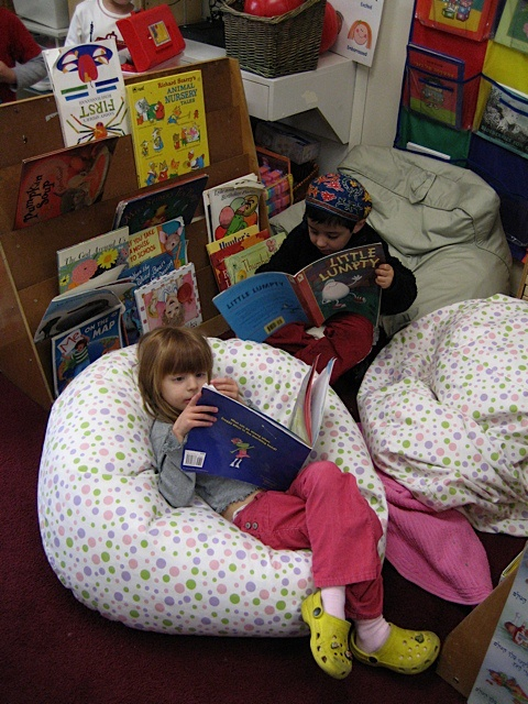 Classroom Design In Early Childhood Education ~ I would like to have bean bag chairs in my future