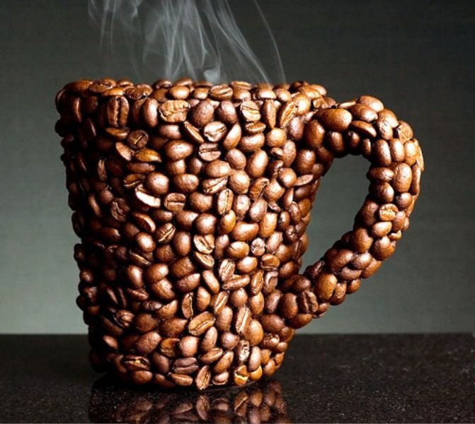 Best Mug Design - Desain Unik Nyleneh - Coffee Bean Mug