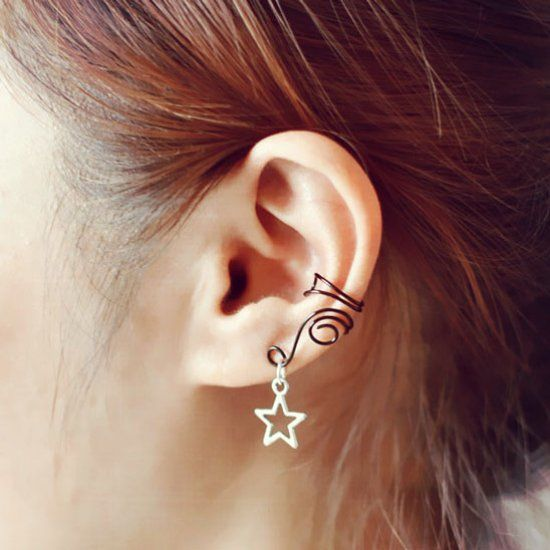 This is an easy DIY project on how to make black copper wire ear cuffs for unpierced ears. Hope you like it.