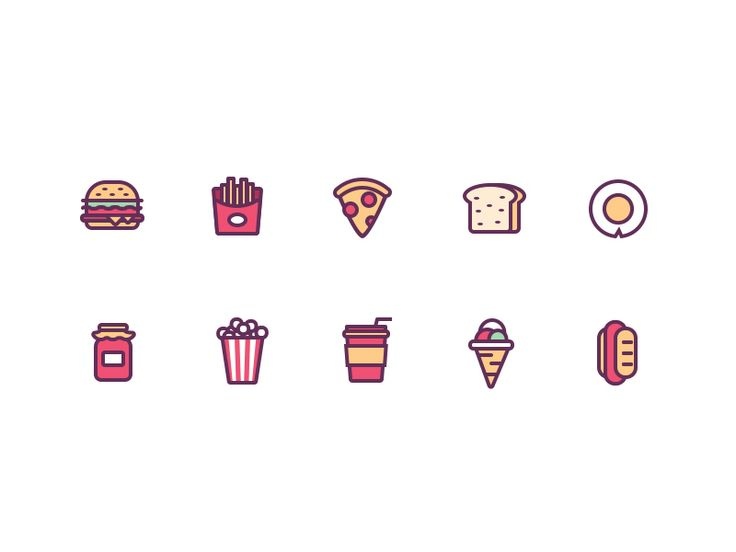 icons by Rwds #Design Popular #Dribbble #shots