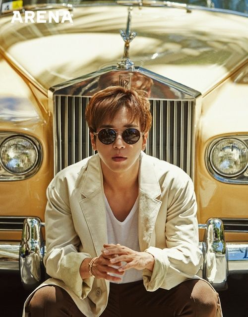 WOW, YongHwa is looking flawless in his July pictorial for Arena, check it out! Ummm, RAWR. Source | Naver