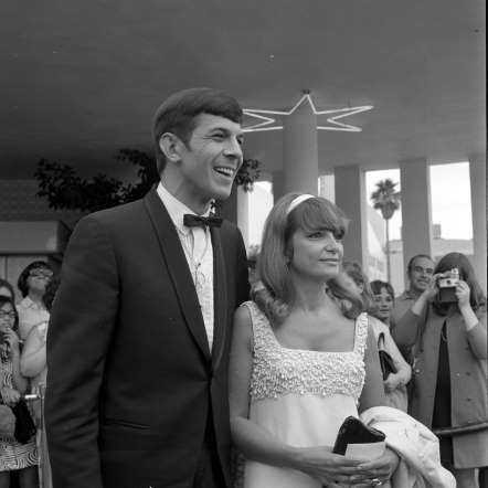 Leonard Nimoy with wife Sandra Zober - Earl Leaf/Michael Ochs Archives/Getty Images