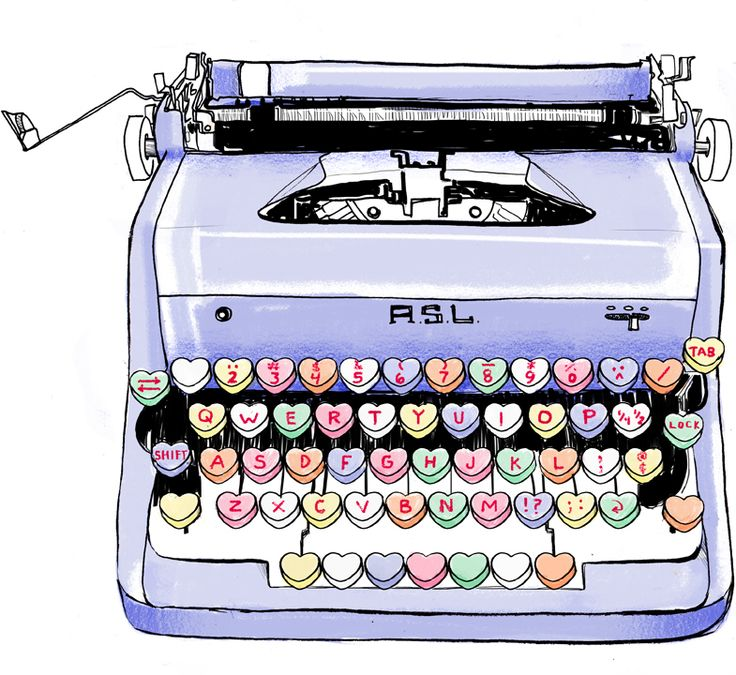 conversation heart typewriter! why is this not real?!