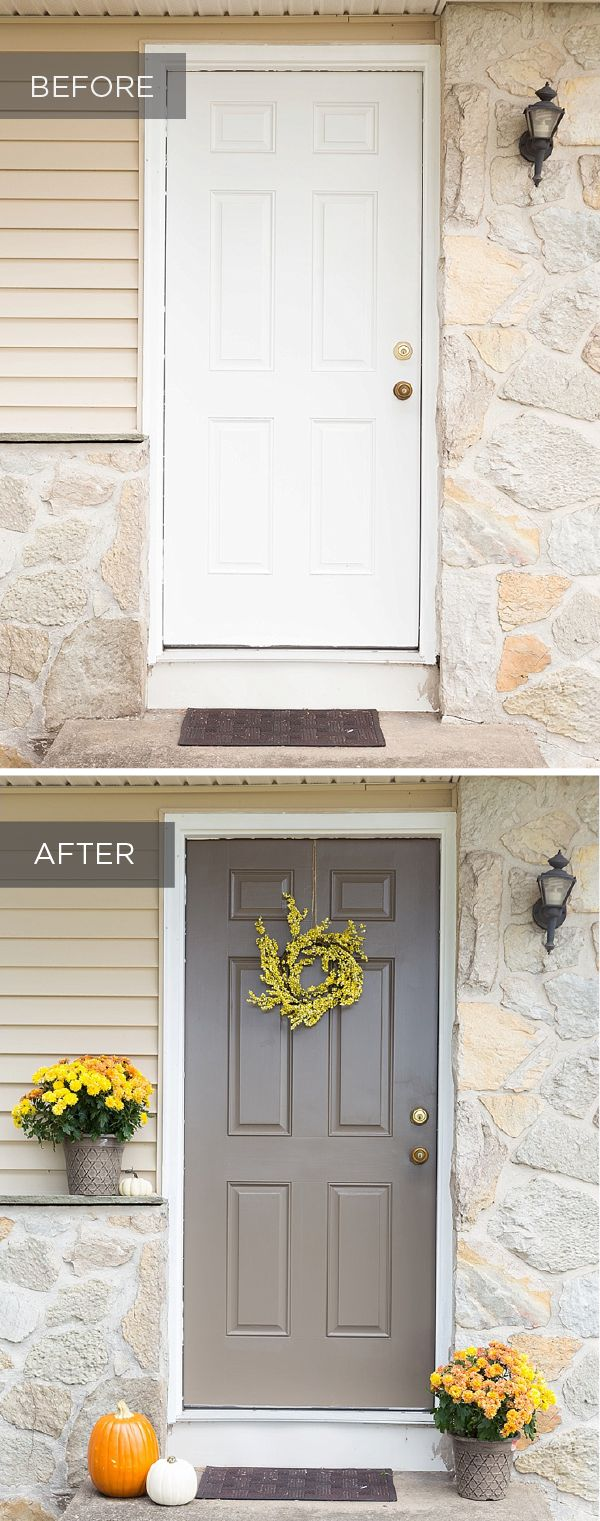 104 best behr 2016 color trends images on pinterest for Front door yellow paint