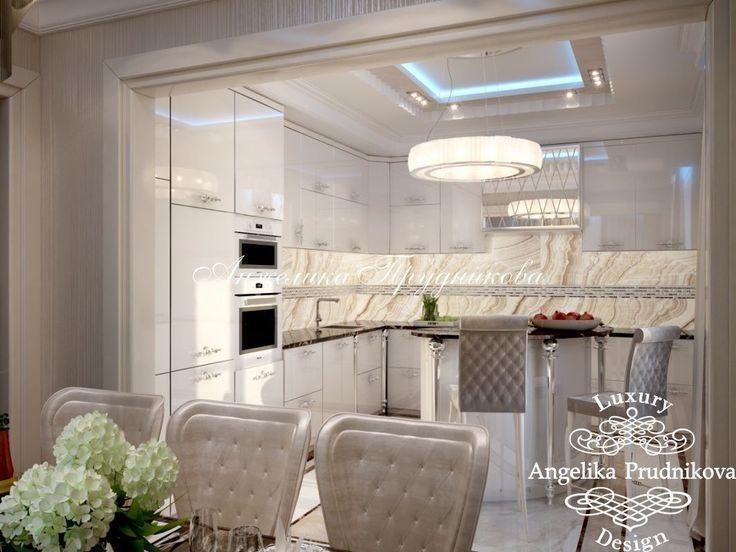 Дизайн интерьера квартиры в ЖК Английские кварталы в стиле Ар Деко - фото