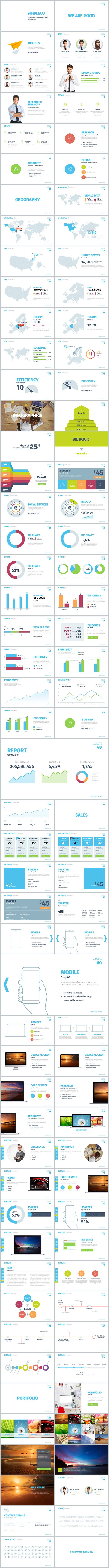 Simple Powerpoint Template #design #slides Download: http://graphicriver.net/item/simpleco-simple-powerpoint-template/13220655?ref=ksioks