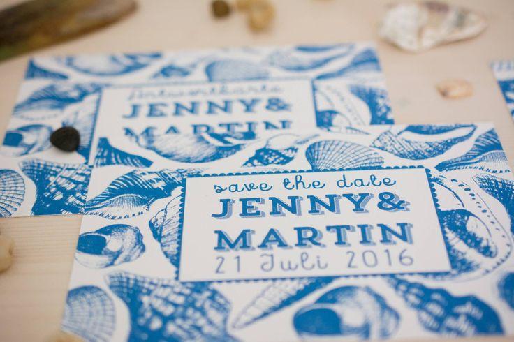 Marine Life Hochzeitsset Hochzeitseinladungen vintage, maritim, blau ...