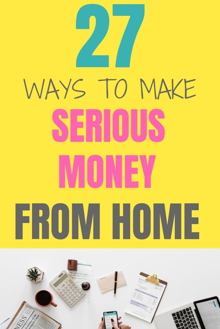 27 Ways to Make Money from Home in the UK – Work