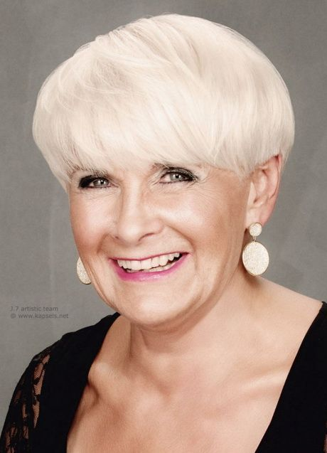 Afbeeldingsresultaat voor korte kapsels dames 50+ vierkant gezicht