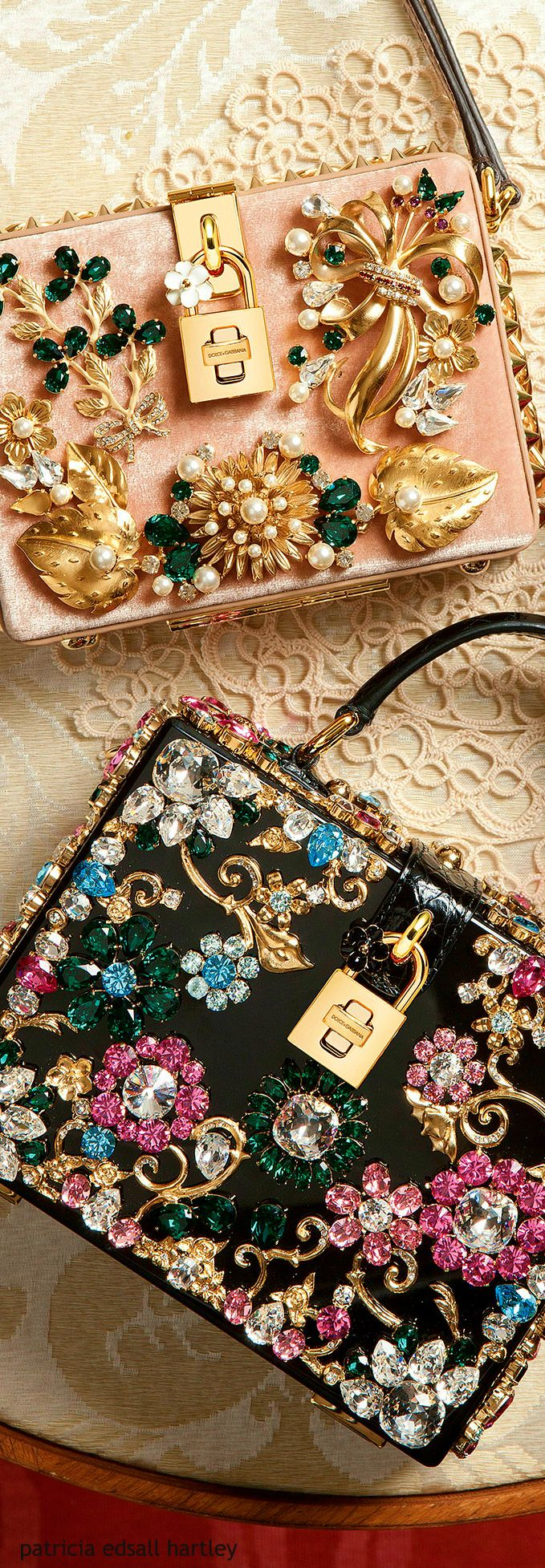 Looks like a lot of the fabulous pins we get in. Add them to any bag and boom you're stylin! Dolce & Gabbana - Winter 2016