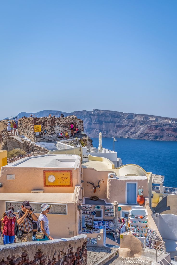 Santorini, Greece -SandraZ