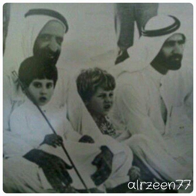 Rashid bin Saeed bin Maktoum Al Maktoum, Saeed bin Maktoum bin Rashid Al Maktoum, Marwan bin Mohammed bin Rashid Al Maktoum y Mohammed bin Rashid bin Saeed Al Maktoum. Vía: alrzeen77