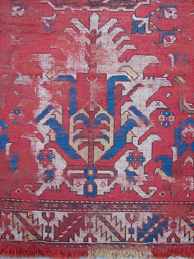 Caucasian Rug Detail 18th c.